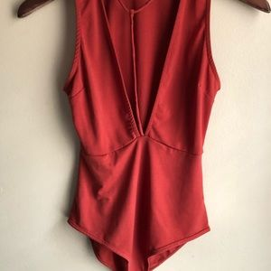 Tops - Nwot Festival detailed strappy body suit